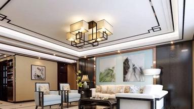 烟台天马相城二期205㎡新中式家装案例